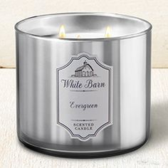 Evergreen - Chrome Core Collection || Bath & Body Works Candle #BathAndBodyWorks #Candle