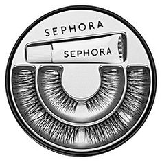SEPHORA COLLECTION - Fringe Benefits Lashes  #sephora Always needed false lashes to give my look a more defined edge, but a lot of the times the lashes were a bit too extravagant for my features. This eyelash palette lets me control how much oomph I put in my eyes so it doesn't seem too overburdened with falsies :D