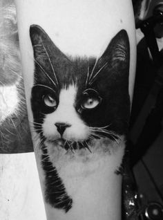 WOW! Now this is a #Cattoo! Absolutely beautiful! From Jackson Galaxy's facebook page.