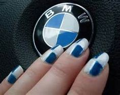 BMW nail art - - Yahoo Image Search Results