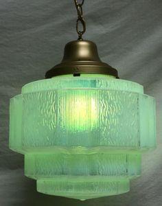 Beautiful-Art-Deco-Skyscaper-Glass-Light-Fixture
