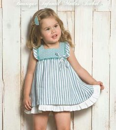 Jun 2019 - Inspiration for traditional classic girls clothing! Baby Girl Dress Patterns, Little Dresses, Little Girl Dresses, Baby Girl Fashion, Toddler Fashion, Kids Fashion, Fashion Games, Fashion Outfits, Toddler Dress