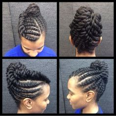 3 Cute Flat Twist Hairstyles Take Winning Prize – For Being Some Of The Best Back To School Styles Ever protective style, flat twistprotective style, flat twist Natural Hair Twist Out, Natural Hair Updo, Natural Hair Journey, Be Natural, Natural Hair Styles, Flat Twist Hairstyles, Flat Twist Updo, Braided Hairstyles, Black Hairstyles
