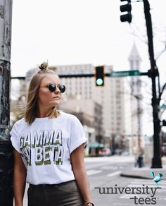 vibes  | Gamma Phi Beta | Made by University Tees | universitytees.com