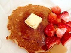 朝食に☆オートミールパンケーキ レシピ・作り方