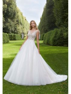 879fbb5f717 MORI LEE Mori Lee 2037 Paladia Sparkle Tulle Ball Gown Ivory. The Cotswold  Frock Shop · Ball Gown Style Wedding Dresses