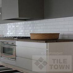 Quarndon White Kitchen Wall This Coloured Extra Large Metro Bathroom Tile