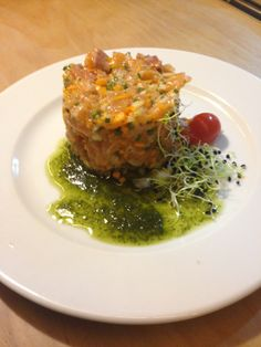 #Tartar de #Salmon, un plato encantador. ¿Te lo vas a perder?