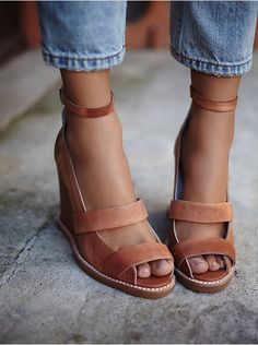 Free People Dakota Wedge, $150.00