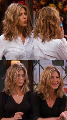 Estilo Rachel Green, Rachel Green Hair, 90s Haircuts, 90s Hairstyles, Jennifer Aniston Hair, Jenifer Aniston, Hair Inspo, Hair Inspiration, Middle Length Hair