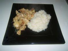 Pollo al latte di cocco e curry
