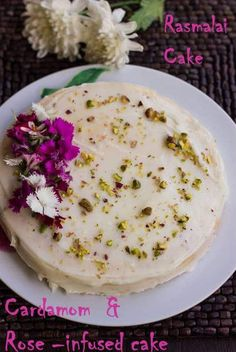 Rasmalai is an Indian dessert, and here I've adapted Melissa Clark's recipe for Rasmalai Cake to make my version. It's amazing how one bite of this cake will you feel like your are tucking into the richest, best ras malai you can ever find!