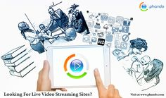 Video Streaming Platform: At Phando, we have made live video streaming even more simple and convenient. Explore the comprehensive online video #streaming platform and also publish the best quality videos across any device & deliver a smooth live-stream viewing experience at www.phando.com