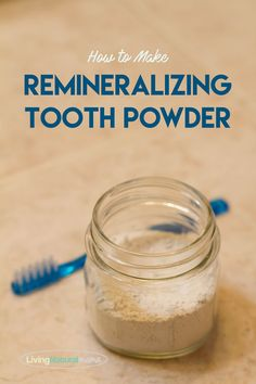 Why I Broke Up with Toothpaste (How to Make Remineralizing Tooth Powder) – Living Natural Mama Diy Beauty Crafts, Homemade Toothpaste, Toothpaste Recipe, Hair Care Recipes, Tooth Powder, Teeth Health, Teeth Care, Skin Care, Glycerin