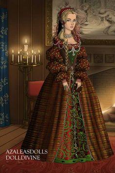 my christmas tudor self. :)