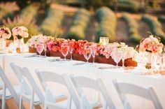 REVEL: Red + Pink Ombre Tablescape