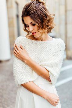 Schulterwärmer für die Braut | Friedatheres.com