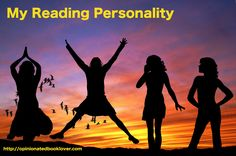 I recently took Anne Bogel's Reading Personality quiz and discovered by reading personality. What's yours? Take the quiz today! Link included in my post.
