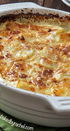 "Four Cheese Garlic Scalloped Potatoes - Noooo! These are ""Au Gratin"" not ""Scalloped!"" But they do sound delicious by any name. Potato Side Dishes, Vegetable Side Dishes, Vegetable Recipes, Scalloped Potato Recipes, Cheese Scalloped Potatoes, Scallop Potatoes, Scallop Recipes, Cheese Potatoes, Side Dish Recipes"