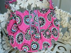 Cupcakes PINK! My favorite Vera Bradley Pattern...retired now but I still love it!