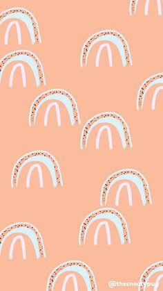 Iphone Wallpaper Vsco, Iphone Background Wallpaper, Aesthetic Iphone Wallpaper, Aesthetic Wallpapers, Cute Patterns Wallpaper, Trendy Wallpaper, Pattern Wallpaper Iphone, Rainbow Wallpaper, Pastel Wallpaper