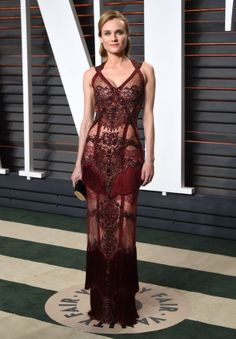 Oscars 2016: Diane Kruger shows us how the naked dress is actually done: Forget Kim Kardashian and Rihanna.