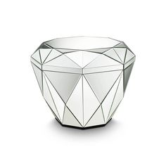 Discover the Reflections by Hugau/Larsson Diamond Table - Silver at Amara