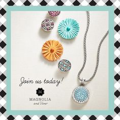 Starlet pendant necklace in bloom!