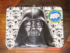 #StarWars #DarthVader #Stormtroopers Carry Tin with marshmallows 7 x5 x2.5