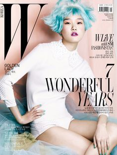 """W Korea does pastel hair. Koreans do every """"American"""" trend years before Americans do"""