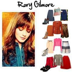 Rory Gilmore Skirt Outfits by beth-johnson-anderson on Polyvore featuring Fat Face, Modström, RED Valentino, Chloé, Ralph Lauren Blue Label, Moschino Cheap & Chic, Marc by Marc Jacobs, Jaeger, Boohoo and Santoni