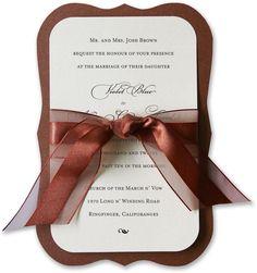 Amelie Vintage Wedding Invitations   Sassy DIY from Invitesite