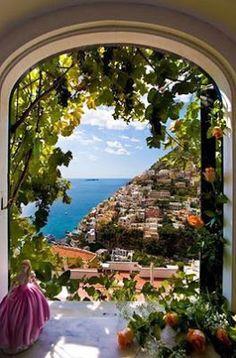 Villa Fiorentino, Positano, Costa Amalfitana, Itália