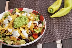 Totally Veg!: Veganer Nacho-Salat - raffiniert und sommerlich