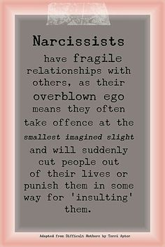It is sad when you come across one of these in your life. It can change everything.  Learn to protect yourself against narcissistic people!