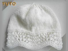 06-ens-blanc-vieux-rose Knitted Hats, Ens, Winter Hats, Creations, Knitting, Crochet, Fashion, Easy Knitting Projects, How To Knit Socks