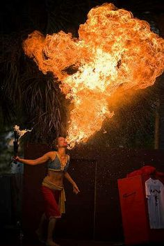 23 Fire Breathing Moments Like You've Never Seen Before Breathing Fire, Fire Dancer, Night Circus, Circus Circus, Fire Element, Flow Arts, Fire Art, Fire And Ice, Belly Dance