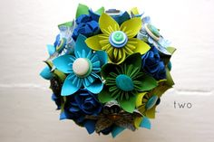 8 Awesome Paper Flower Bouquets