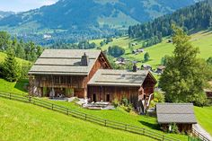 Constructed in a pastoral setting outside Gstaad, this incredible property was recently transformed into an opulent private home by a leading designer.