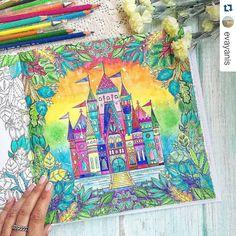 Enchanted Forest - Floresta Encantada - Johanna Basford - Inspiration