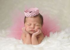 Tutu and Crown Set  Blush Pink  Newborn Tutu  by wrenandribbon, $42.00