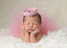 Tutu and Crown Set  Blush Pink  Newborn Tutu  by wrenandribbon, $42.00