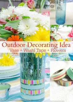 DIY Summer Vase + Wa