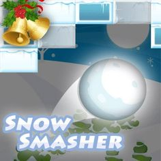 Snow Smasher - http://www.funtime247.com/arcade/snow-smasher/ - Train your reaction skills with this winterly revival of the classic breakout game!