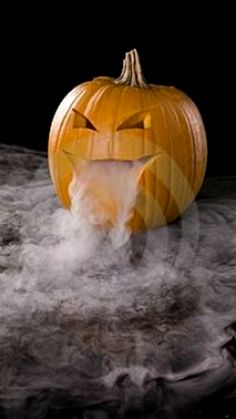 How To Create Jack-O-Lantern Halloween Fog