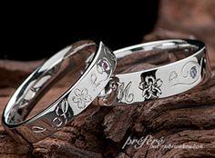 マリッジリング(結婚指輪)は桜モチーフデザインをLOVEな想いを込めてオーダーメイド