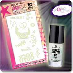 """the """"rock out!"""" glow in the dark products are sure to make you stand out from the crowd - even at night!  what's the perfect occasion to wear glow in the dark?  a. when i feel like partying b. when i go to bed c. halloween  #essence #nails #nailpolish #glowinthedark #EMAzingessence #mtvema #rockout #trendedition"""