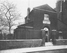 Lambeth Parish watch house. A watch house was erected on Lambeth High Street in 1825, for the purpose of holding 'the drunk and disorderly'. Its site is marked with a stone in Lambeth High Street Recreational Ground. The building was apparently demolished at some point between the wars. New South, South London, Vintage London, Old London, Old Pictures, Old Photos, London History, St Albans, Past