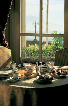 Hotel Excelsior, Naples—Guest Room breakfast | Flickr - Photo Sharing!