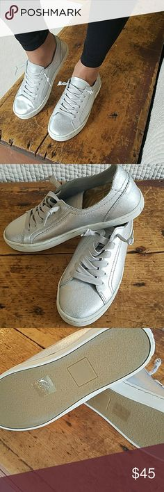 sports shoes abee7 72f0e NWOT Silver Dolce Vita Sneakers New Dolce Vita Sneakers size 8. They are  new with